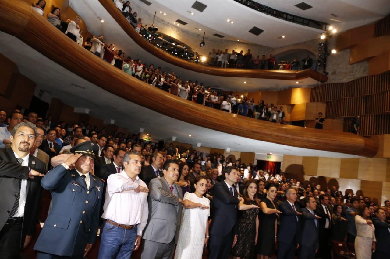 Asiste titular de la CGCS a Tercer Informe de Gobierno de Morelia