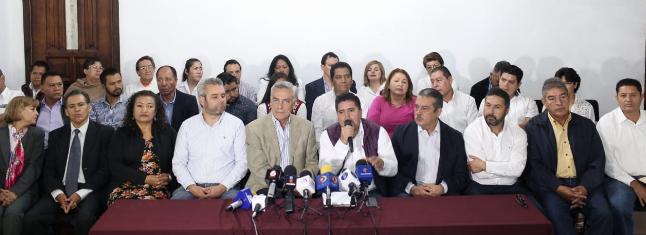 Pide MORENA al mandatario Silvano Aureoles detener designación del Fiscal General de Justicia