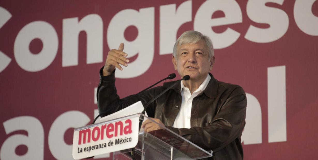 Palabras de AMLO, presidente electo de México, en V Congreso Nacional Extraordinario de MORENA