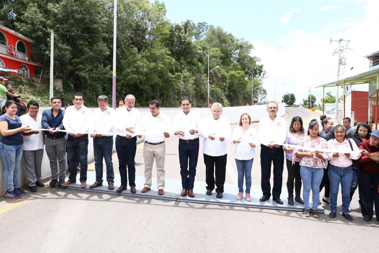 Inaugura Gobernador obra en Zitácuaro por 50 mdp