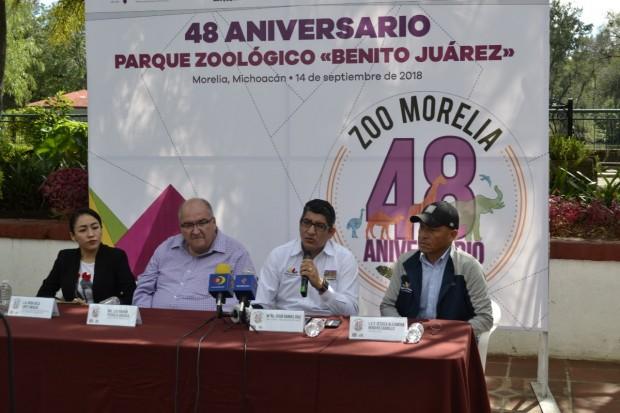 """Celebrará en grande el Parque Zoológico """"Benito Juárez"""" su 48 Aniversario de Fundación"""