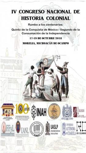 IV Congreso Nacional de Historia Colonial en la UMSNH
