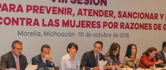 Levantar Alerta de Género en Michoacán en dos años, la meta: Silvano Aureoles