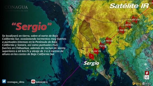 Intervalos de chubascos con tormentas puntuales fuertes (25 a 50 mm) en Michoacán, este viernes