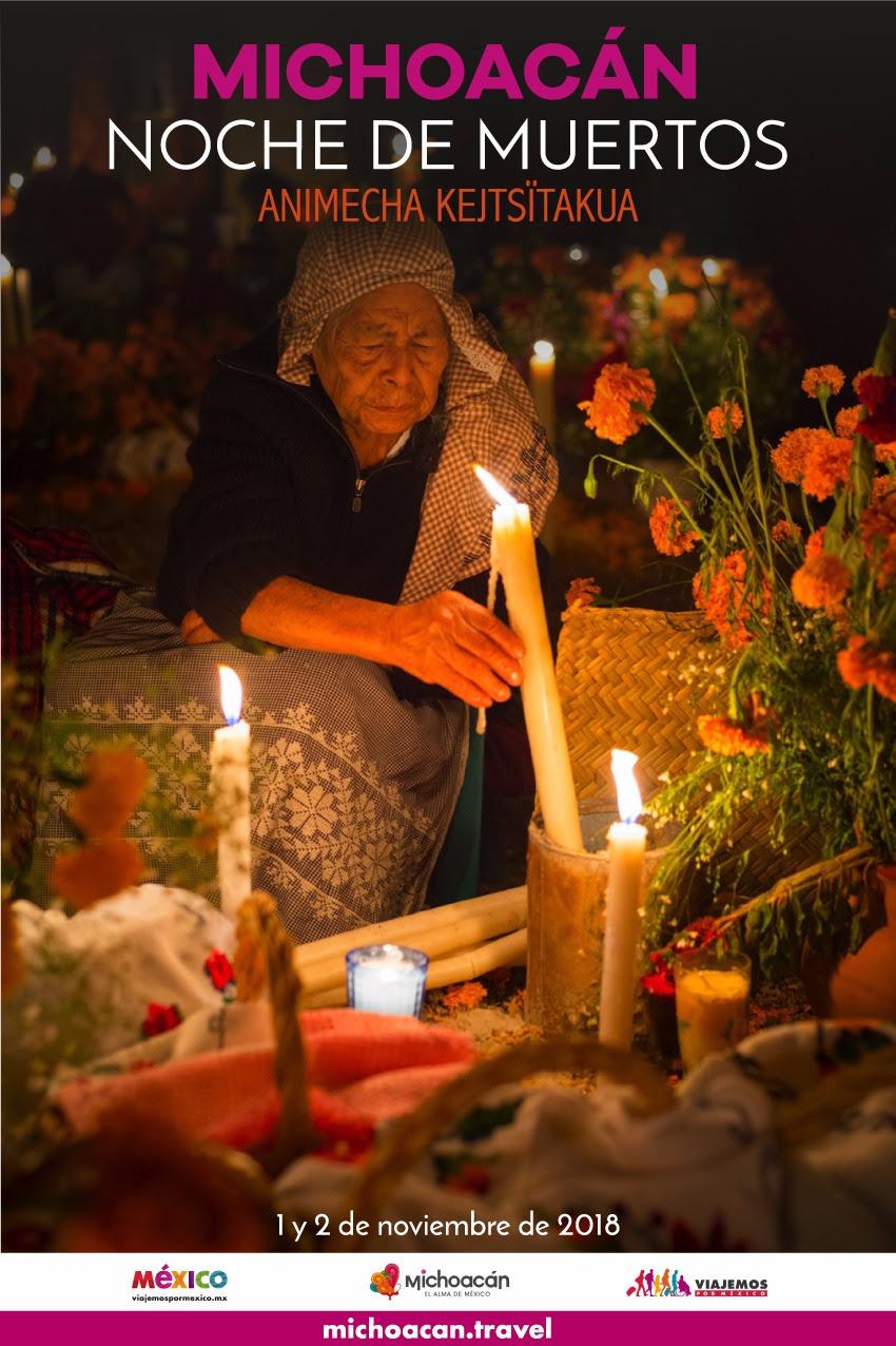 Con más de 700 actividades, Michoacán celebrará Noche de Muertos 2018
