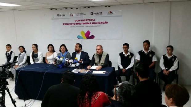 """Lanzan Convocatoria de """"Proyecto Multimedia Michoacán"""""""