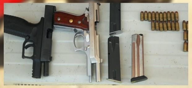 Reporta la SSP cinco detenidos por posesión de drogas y armas