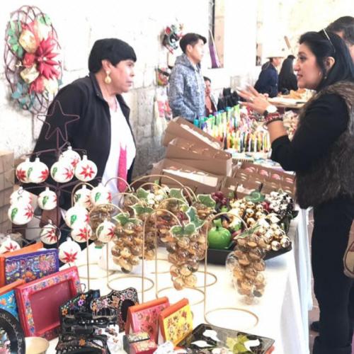 Inauguran en Morelia la Muestra Artesanal Navideña 2018