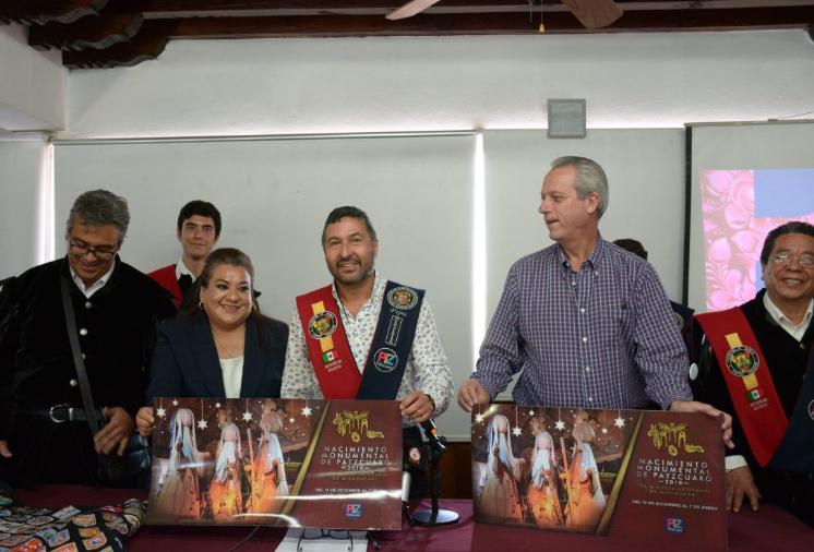 Del 15 de diciembre, al 7 de enero, el Nacimiento Monumental  Pátzcuaro 2018