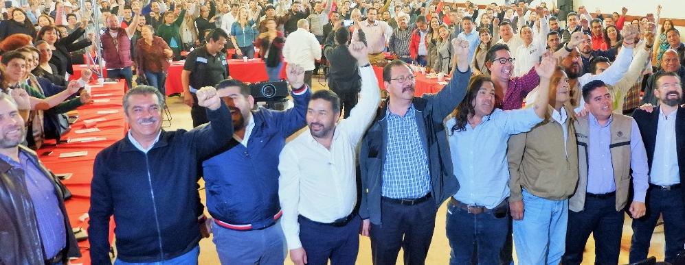 """MORENA, PT y PES celebran el 2º. Encuentro de la Coalición """"Juntos Haremos Historia"""""""