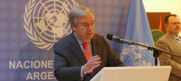 El Secretario General de la ONU aplaude el compromiso del G20 contra el cambio climático