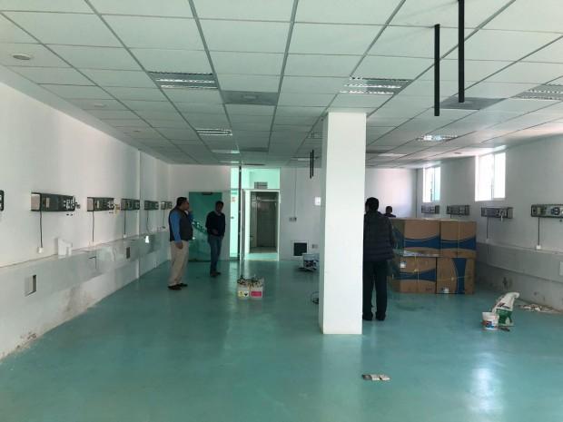 Instala SSM nuevo equipamiento para la Unidad de Hemodiálisis en Ciudad Hidalgo