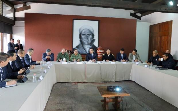 Debajo de la media nacional, la incidencia de delitos en Michoacán: GCM
