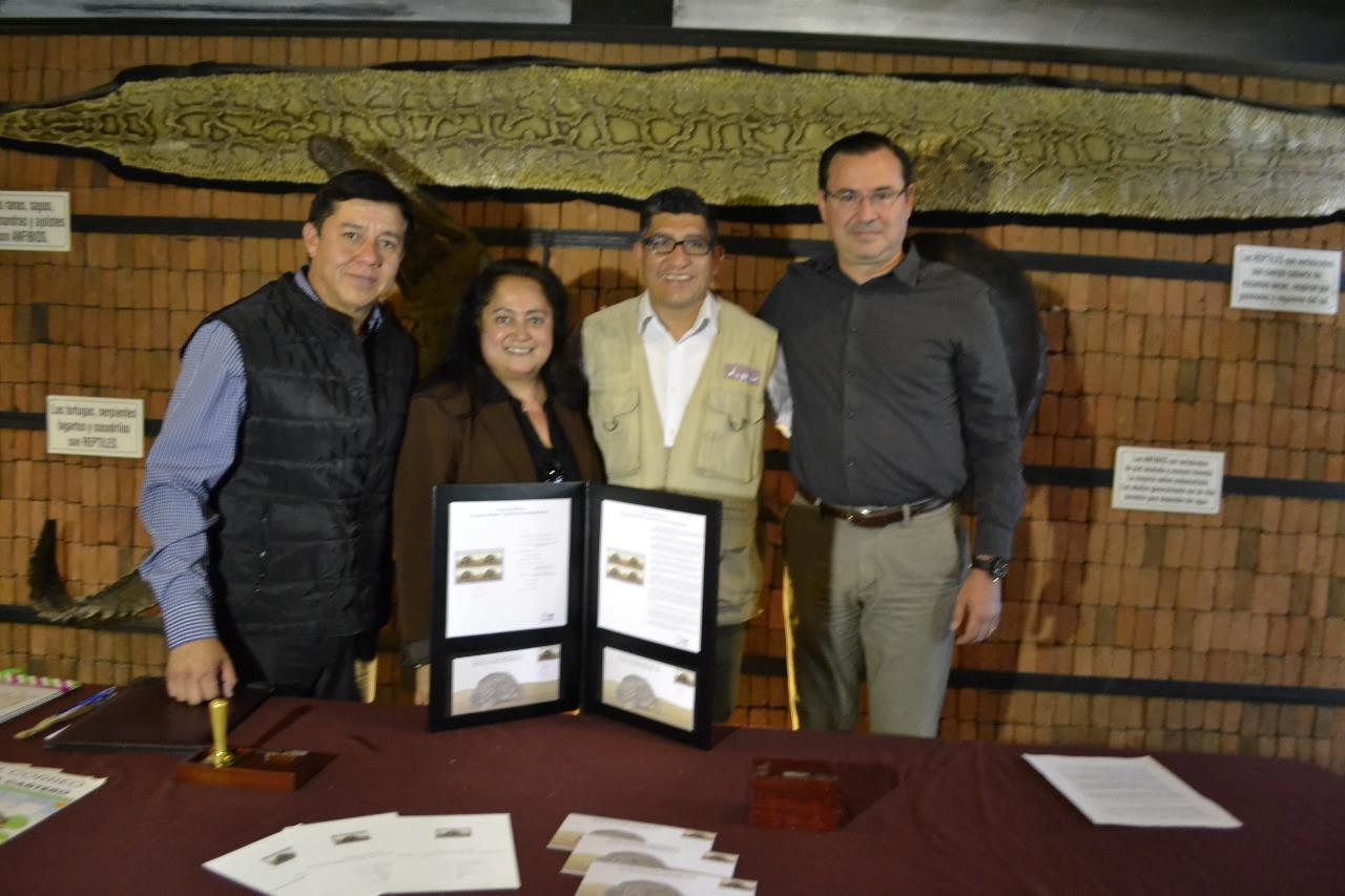 """En el Zoo de Morelia, cancelación del Timbre postal """"Fauna de México"""""""