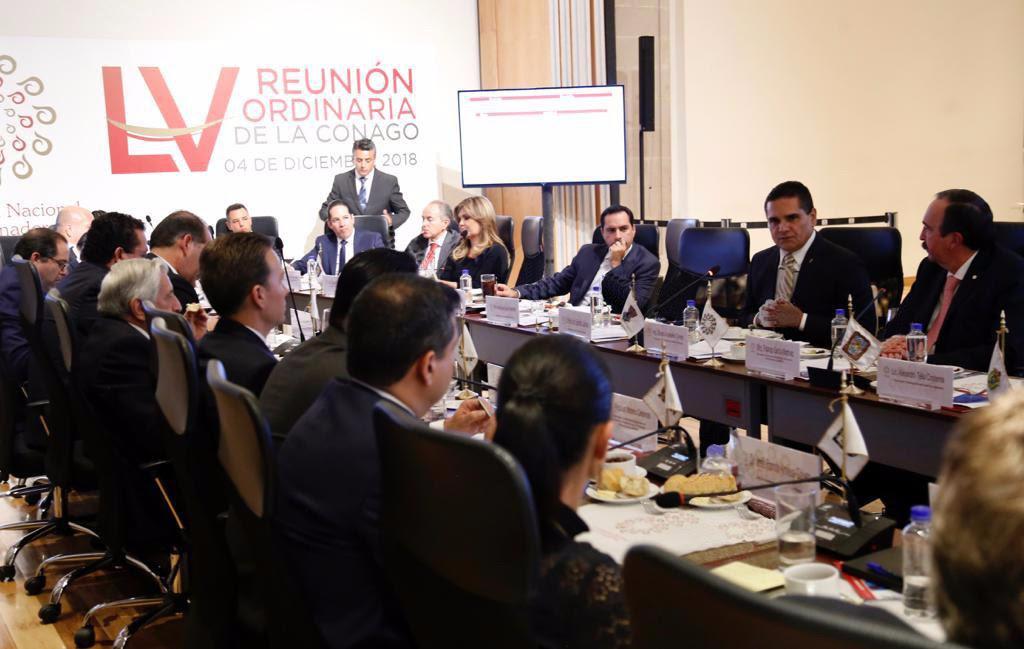 Silvano Aureoles y Gobernadores piden a AMLO separar a delegados de temas de seguridad