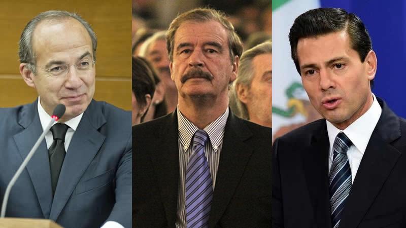 Felipe Calderón y Peña Nieto ¿recibieron sobornos millonarios en dólares, de integrantes del crimen organizado?