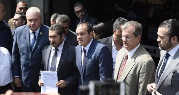 Denuncian al ex gobernador de Morelos, Graco Ramírez por delincuencia organizada y corrupto