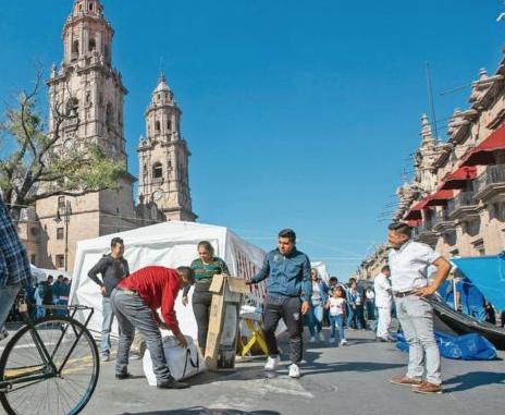 CNTE levanta paro en Michoacán  e informan que el lunes reanudan las clases