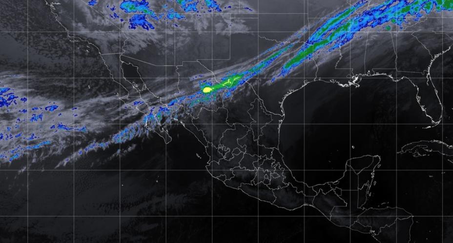 Rachas fuertes de viento en los estados del noroeste y norte de la República Mexicana