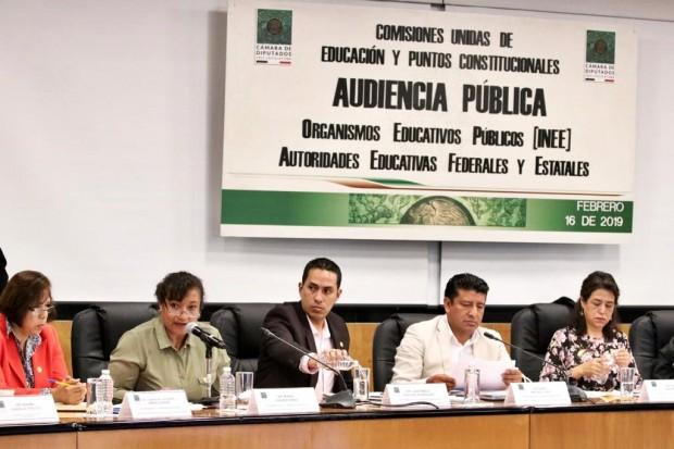 Evaluación educativa nunca más será para castigo: Diputada María Chávez
