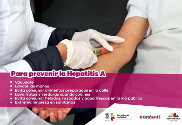 Realiza SSM acciones preventivas contra la Hepatitis A