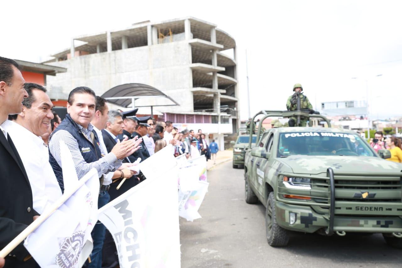 Encabeza Gobernador frente común para fortalecer estrategia de seguridad en Zitácuaro