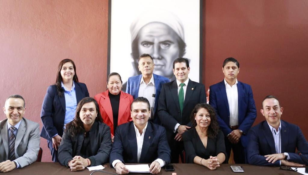 Acuerdan Gobernador y partidos políticos ruta de colaboración y respeto a favor de Michoacán
