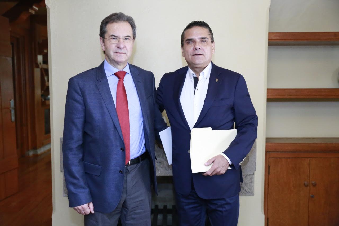 Con la Federación, resolveremos juntos el problema de educación: Silvano Aureoles