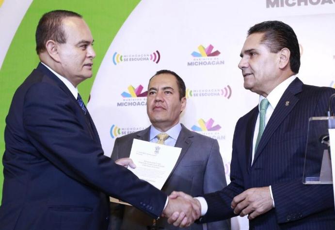 Carlos Herrera Tello a la Segob; Martín Godoy a la SSP