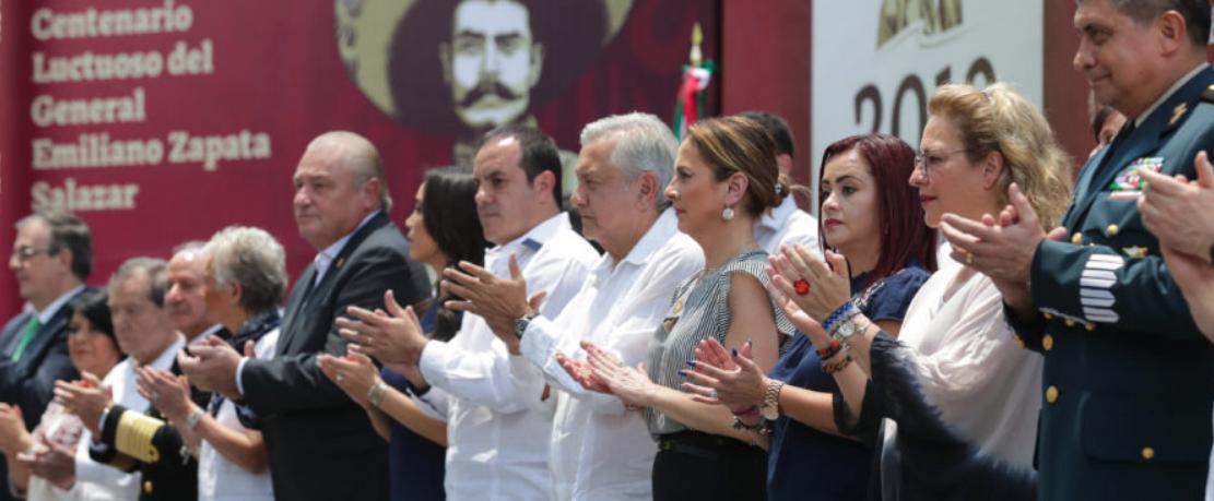Héroes nacionales serán ejemplo para los servidores públicos de la 4T: presidente AMLO