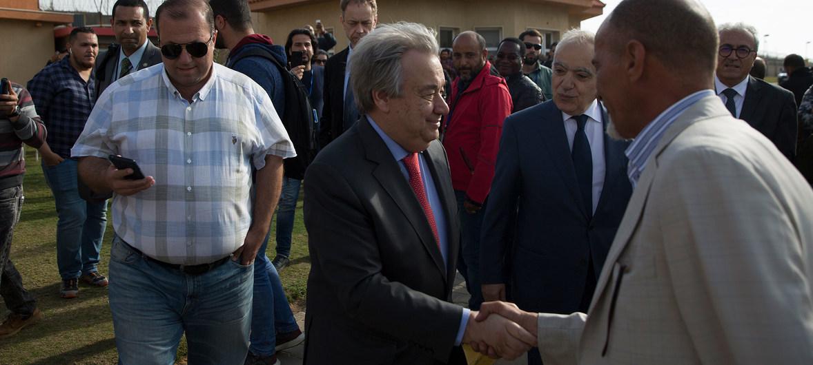 """""""No hay solución militar para Libia"""", dice el Secretario General"""