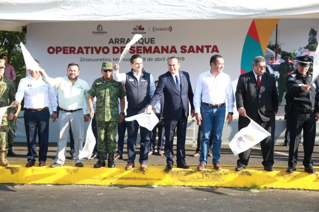 Gobierno estatal arranca Operativo Semana Santa
