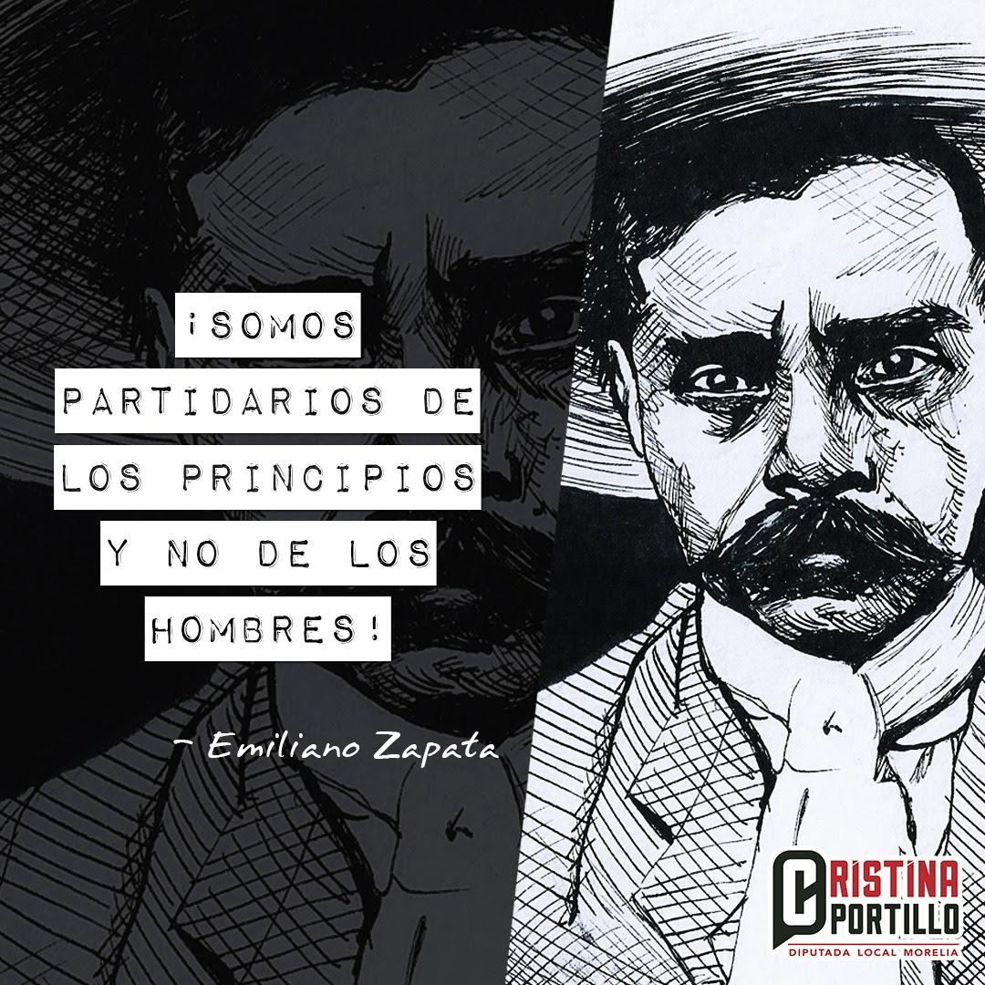 Los ideales de Zapata orientan el trabajo de la fracción parlamentaria de Morena: Cristina Portillo