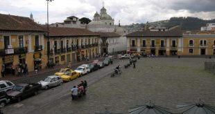 Imagen de la ciudad de Quito, capital de Ecuador