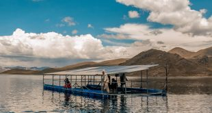 La comunidad Chullpia en Perú ha desarrollado paneles solares para suministrar electricidad en los proyectos de irrigación.