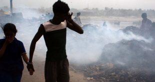 La incineración de basura contribuye gravemente a la contaminación del aire y al calentamiento global.