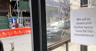 Bares y restaurantes en Nueva York han sido obligados a cerrar como medida para limitar el contagio de coronavirus.
