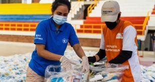 El PMA distribuye canastas con comida entre las poblaciones vulnerables en Colombia